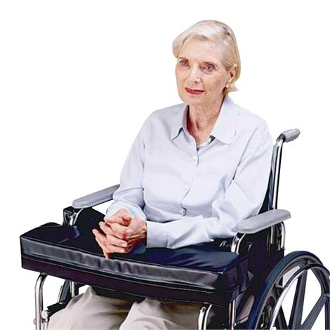 Skil-Care Lap Top Cushion With Cutouts For Half-Arm Wheelchairs