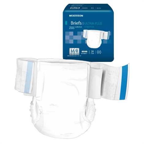 Mckesson Ultra Plus Stretch Tab Closure Adult Disposable Briefs