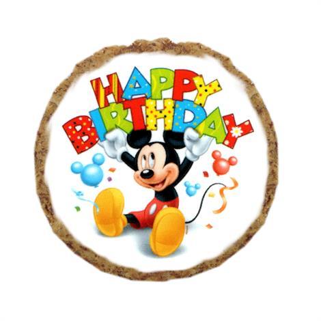 Buy Mirage Mickey Mouse Happy Birthday Dog Treats