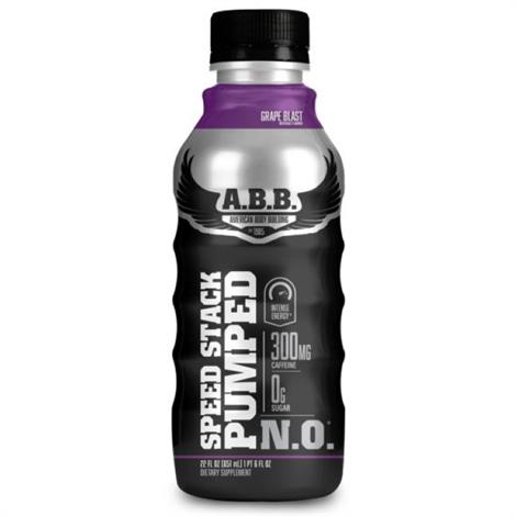 ABB Speed Stack Pumped Pre Workout Supplement Drink