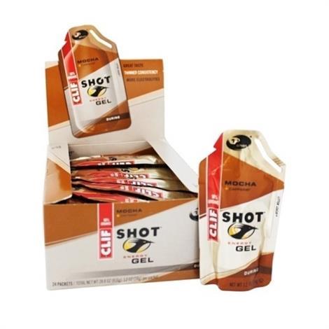 Clif Shot Mocha Bars