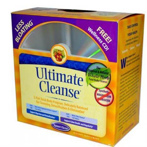 Natures Secret Ultimate Cleanse Tablets