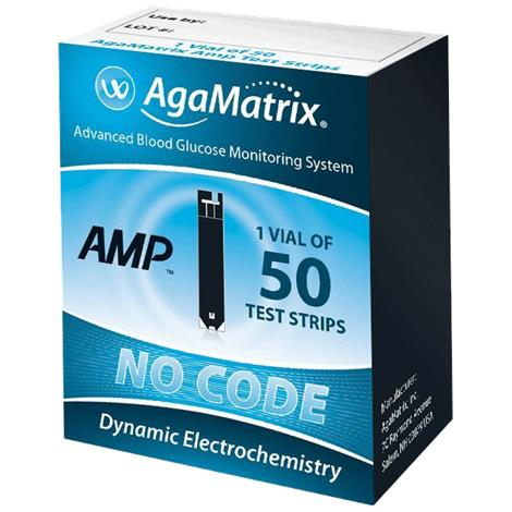 Agamatrix Wavesense AMP Test Strips
