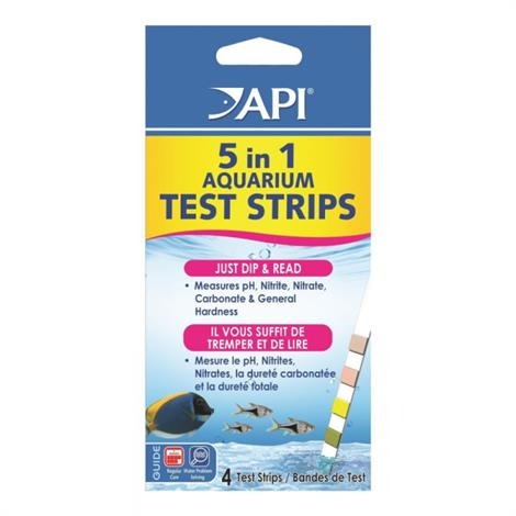 Buy API 5 in 1 Aquarium Test Strips