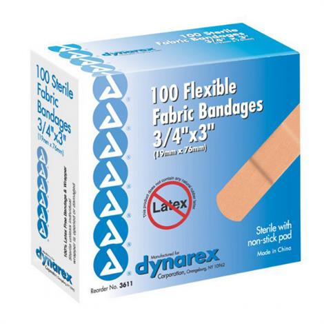 Dynarex Flexible Fabric Adhesive Bandages