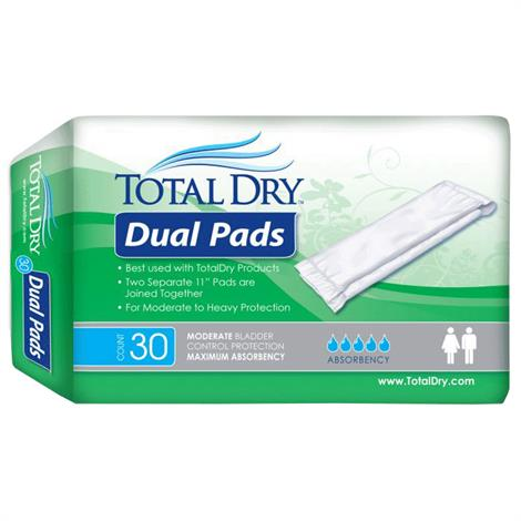 Buy Secure Personal Care TotalDry Dual Pads