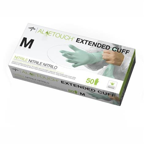 Medline Aloetouch Extended Cuff  Chemo Nitrile Exam Gloves