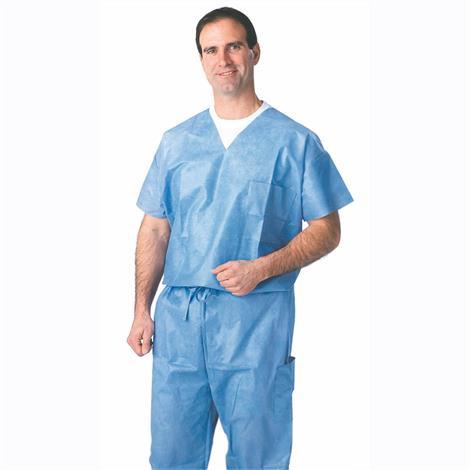 Medline Disposable Drawstring Waist Scrub Pants