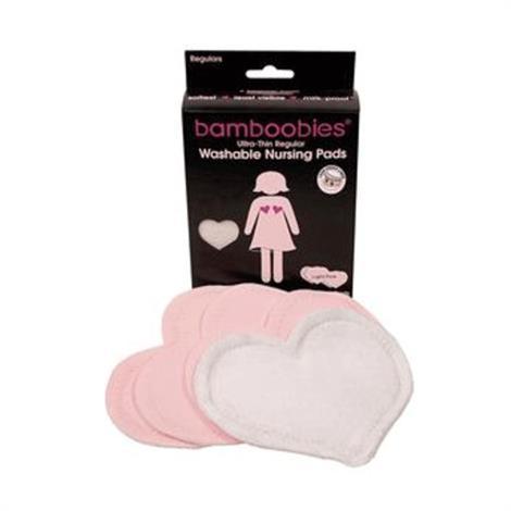 Buy Soft Style Bamboobies Washable Regular Nursing Pads