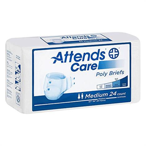 Attends Value Tier Poly Briefs - Heavy Absorbency