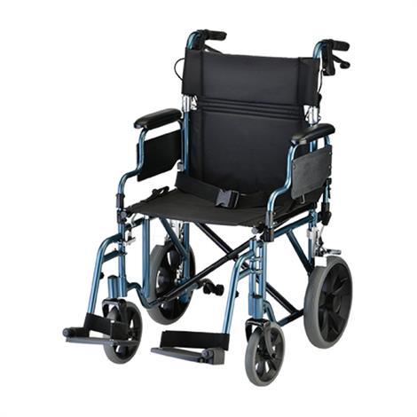 Buy Nova Medical 19 Inches Lightweight Transport Chair With Detachable Desk Arm And Hand Brakes