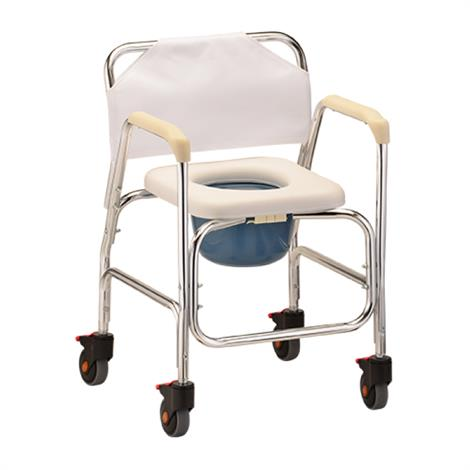 Buy Nova Medical Shower Chair And Commode With Wheels