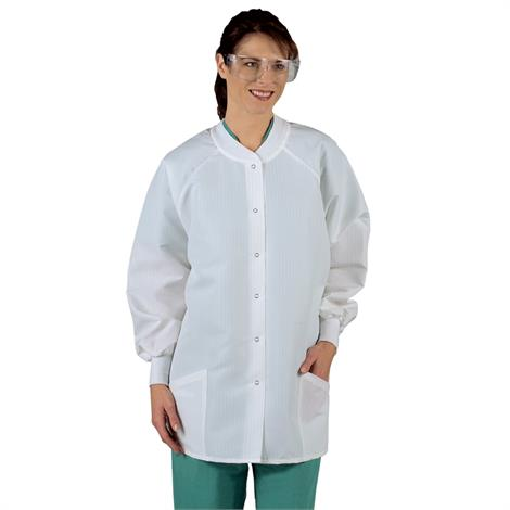 Medline Ladies ResiStat Protective Warm-Up Jackets