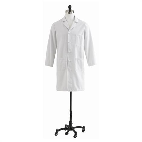Medline Men Blended Premium Full Length Lab Coats