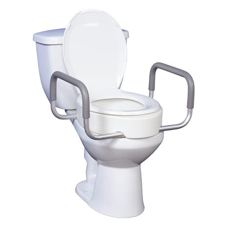 Buy Drive Premium Raised Toilet Seat with Removable Arms