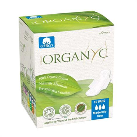 Organyc Cotton Feminine Pads Maternity Pads With Wings