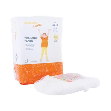 Mckesson Pull On Heavy Absorbency Disposable Toddler Training Pants