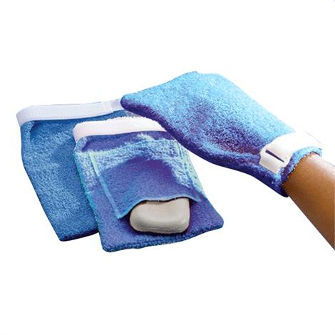 Terry Cloth Antimicrobial Wash Mitts