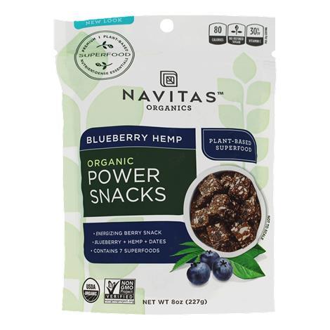 Buy Navitas Naturals Blueberry Hemp Power Snacks