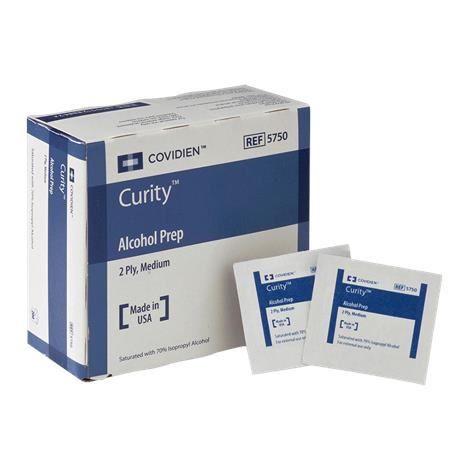 Medtronic Covidien Curity Alcohol Preps