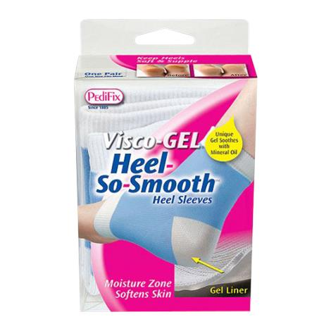 Pedifix Visco-Gel Heel-So-Smooth Heel Sleeves