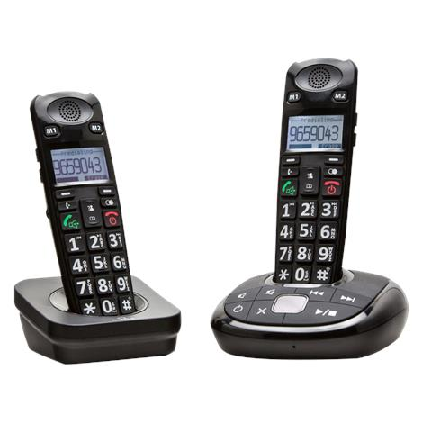 Clearsounds A700 Amplified Cordless Phone with Expansion Handset