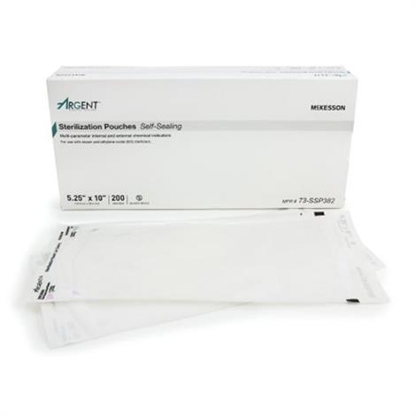 McKesson Sterilization Pouch Argent