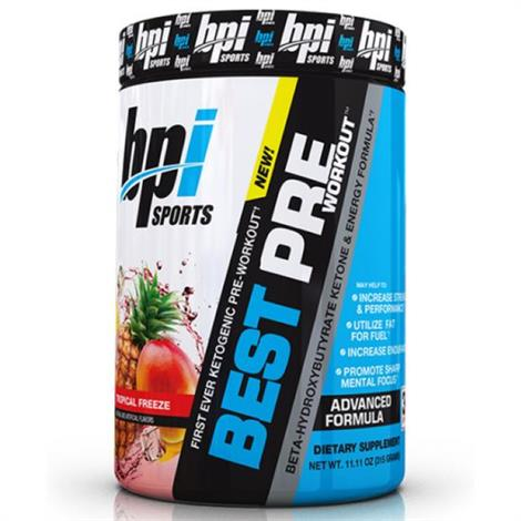 Buy BPI Best Pre Workout Dietary Supplement