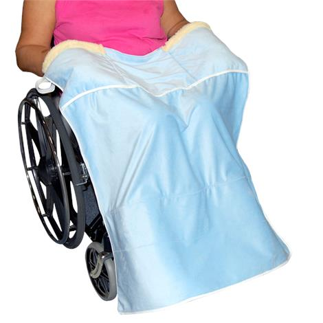 Skil-Care Lap Blanket with Hand Warmer
