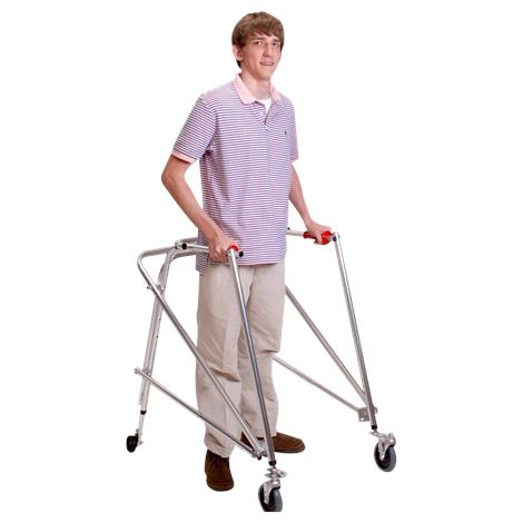 Kaye Posture Control Four Wheel Walker With Front Swivel Wheel For Pre Adolescent
