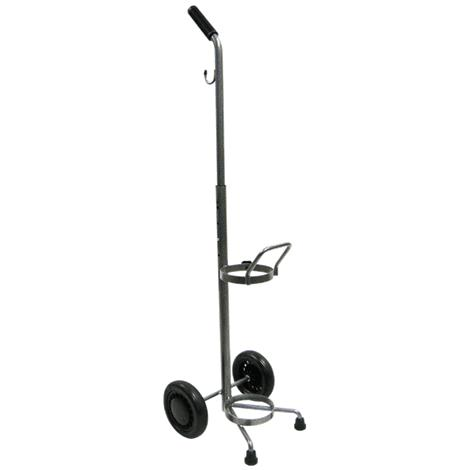 Drive Adjustable Handle Height Oxygen Cart