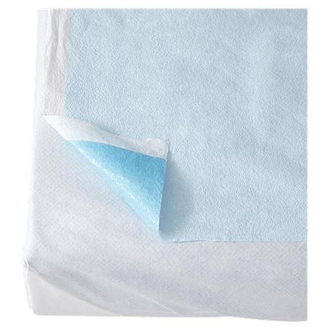 Buy Medline Blue Tissue/Poly Drape Sheet