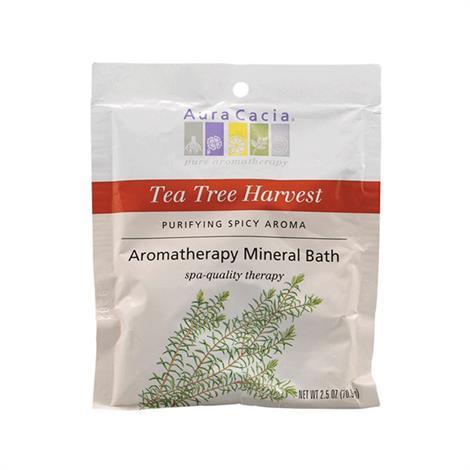 Aura Cacia Aromatherapy Tea Tree Harvest Mineral Bath