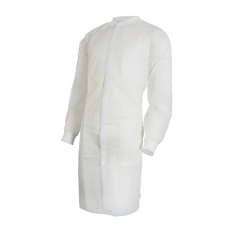 McKesson Long Sleeve Knee Length Lab Coat
