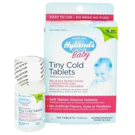 Hylands Homeopathic Remedies Baby Tiny Cold Tablet