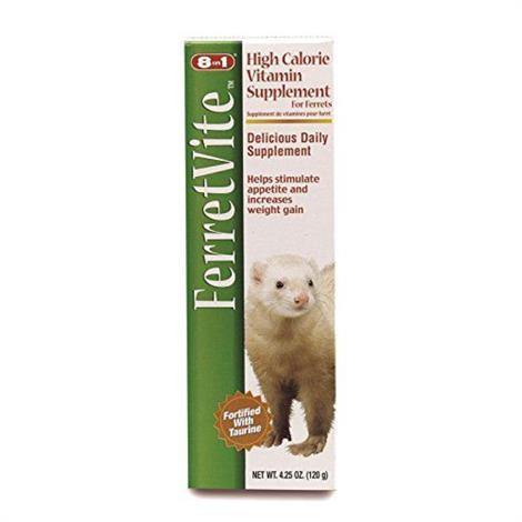 Buy 8 in 1 Pet Products Ferretvite High Calorie Vitamin Supplement