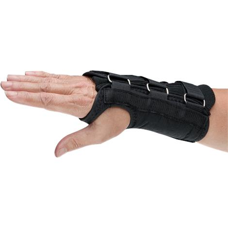 Norco Black Short D-Ring Wrist Support