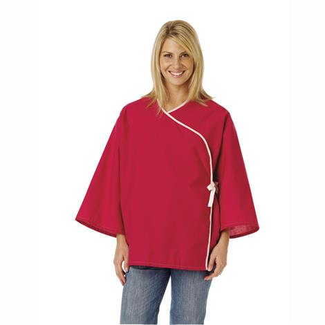 Medline Crisscross Front Mammography Jacket