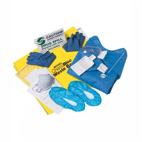Covidien Kendall Chemo Safety 17 Piece Spill Kit