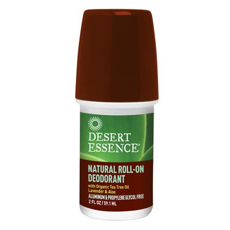 Desert Essence Natural Roll On Body Deodorant