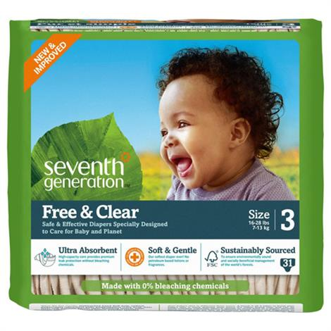 Seventh Generation Stage 3 Baby Diapers
