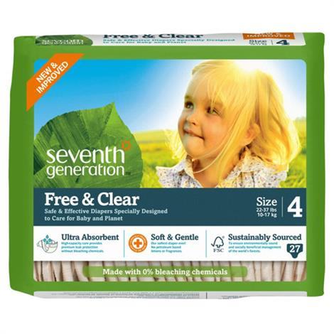 Seventh Generation Stage 4 Baby Diapers