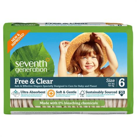 Seventh Generation Stage 6 Baby Diapers