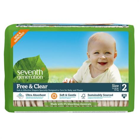 Seventh Generation Stage 2 Baby Diapers