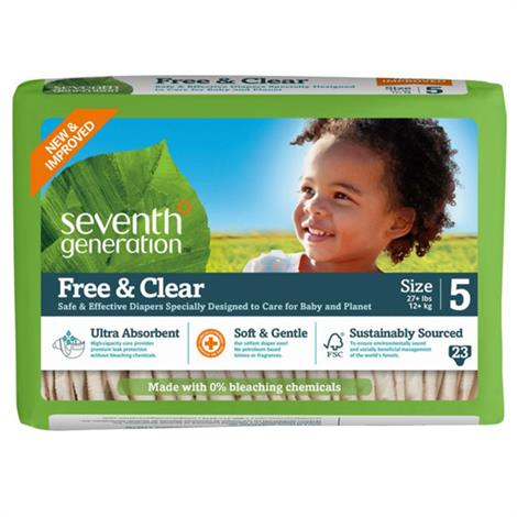 Seventh Generation Stage 5 Baby Diapers