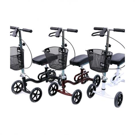 Karman Healthcare KW-100 Luxury Knee Scooter With BasketKarman Healthcare KW-100 Luxury Knee Walker