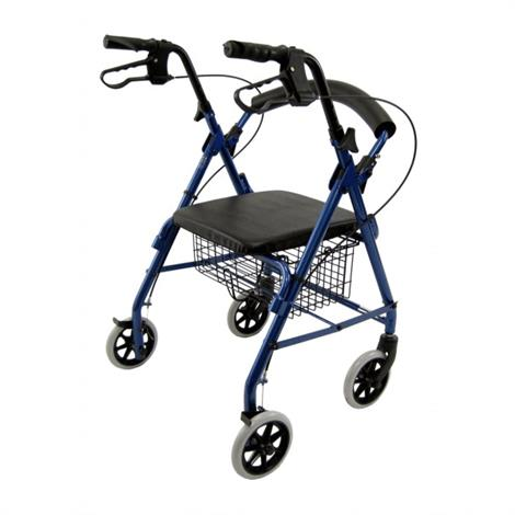 Karman Healthcare R-4100 Aluminum Rollator With Low Seat