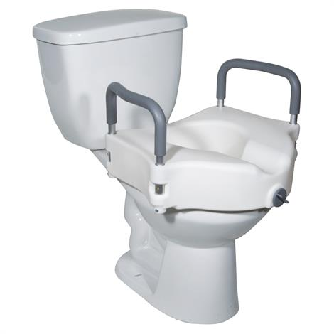 Drive Two In One Locking Elevated Toilet Seat
