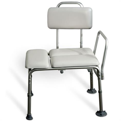 Invacare Padded Transfer Bench with Suction Feet