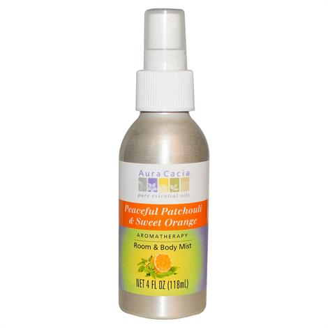 Aura Cacia Patchouli and Sweet Orange Aromatherapy Mist